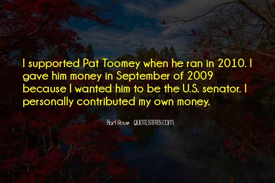 Pat Toomey Quotes #483407