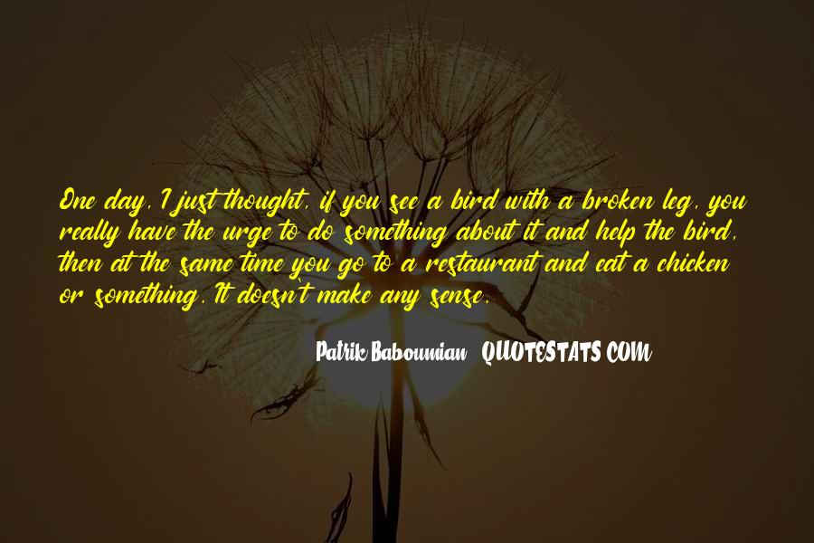 Patrik Baboumian Quotes #217243