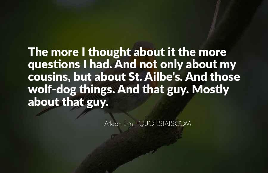 Quotes About Guy Cousins #93255