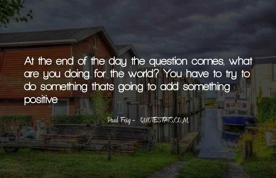 Paul Feig Quotes #143227