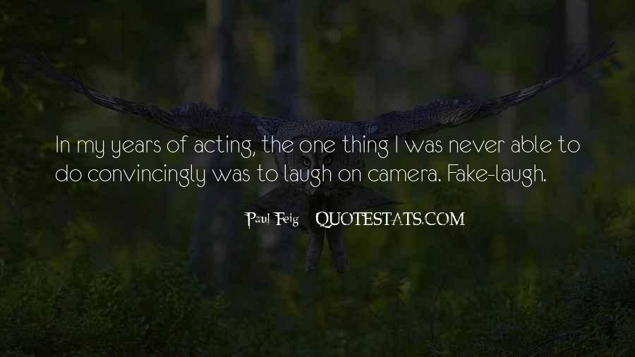 Paul Feig Quotes #213607