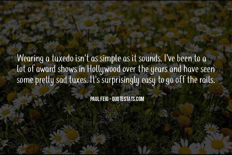Paul Feig Quotes #240077