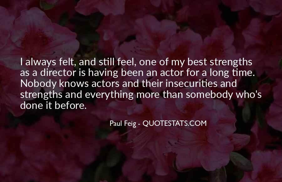 Paul Feig Quotes #373319