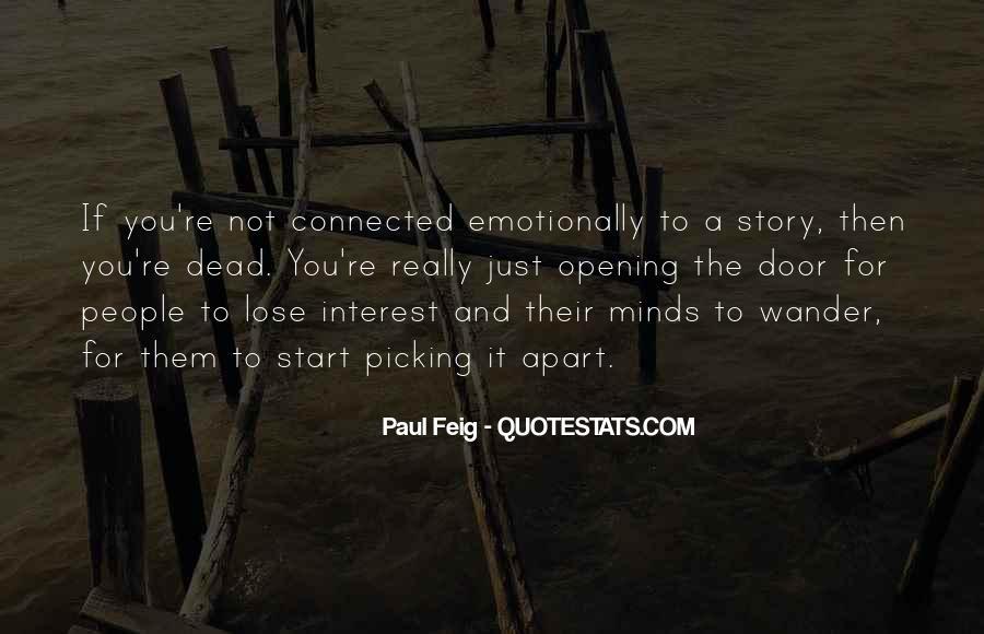 Paul Feig Quotes #836895