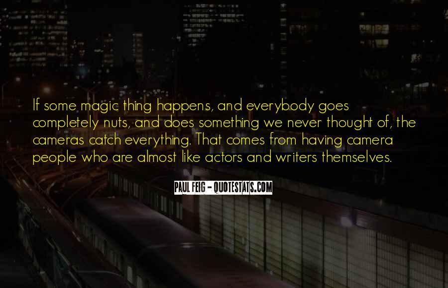 Paul Feig Quotes #850978