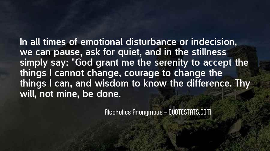 Quotes About Quiet Times #1390371