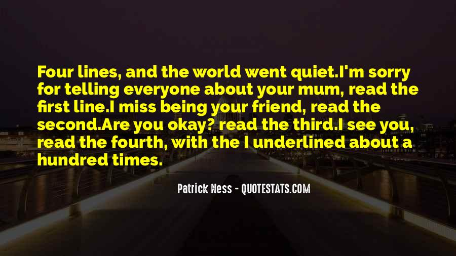 Quotes About Quiet Times #1855784