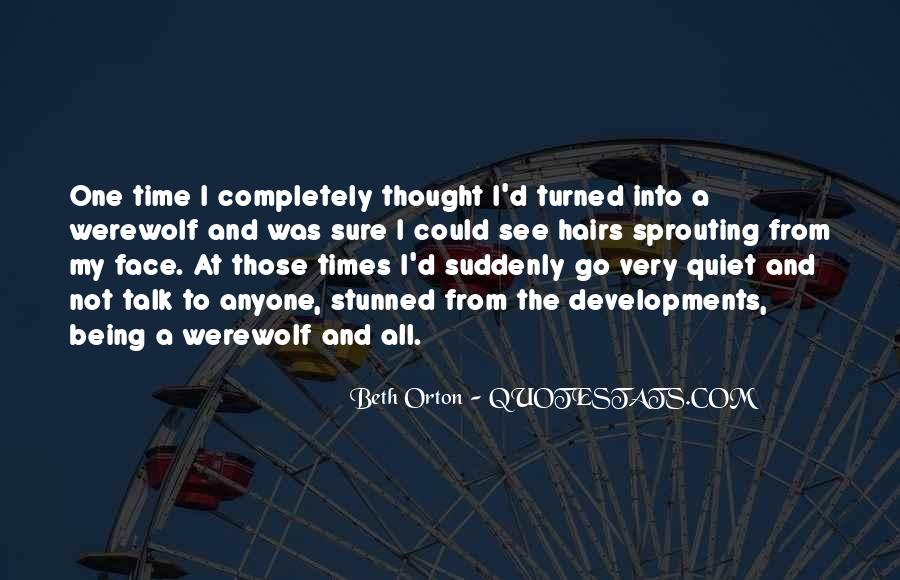 Quotes About Quiet Times #285141
