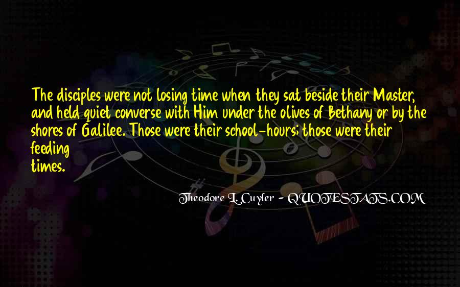Quotes About Quiet Times #44646