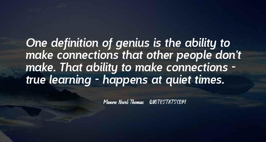 Quotes About Quiet Times #635055