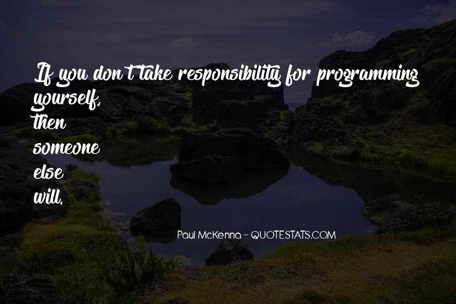 Paul Mckenna Quotes #1651279