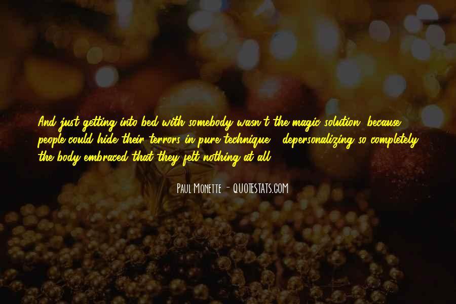 Paul Monette Quotes #366406
