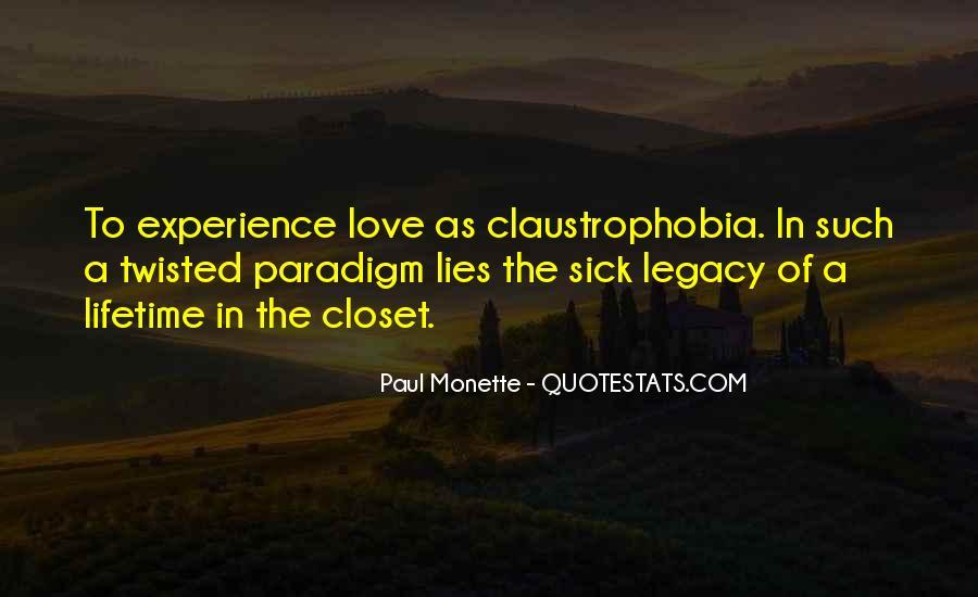 Paul Monette Quotes #843986