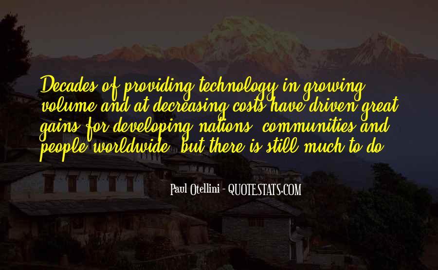 Paul Otellini Quotes #608013