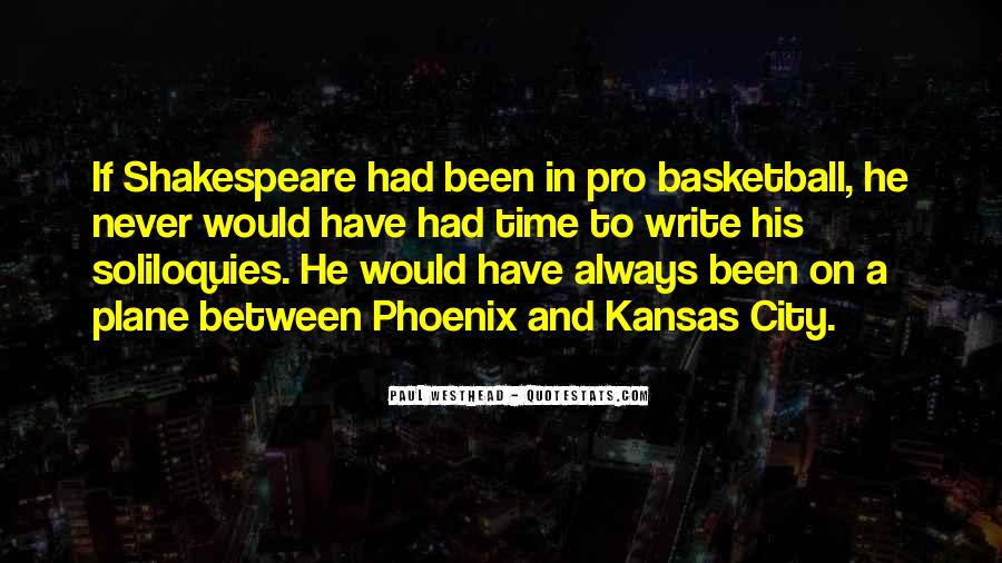 Paul Westhead Quotes #1226444