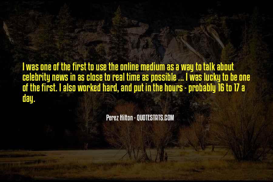 Perez Hilton Quotes #1121752
