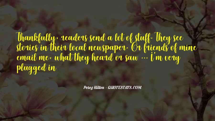 Perez Hilton Quotes #570016