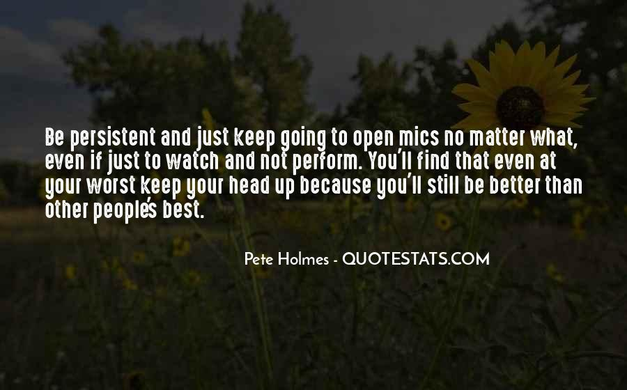 Pete Holmes Quotes #17831
