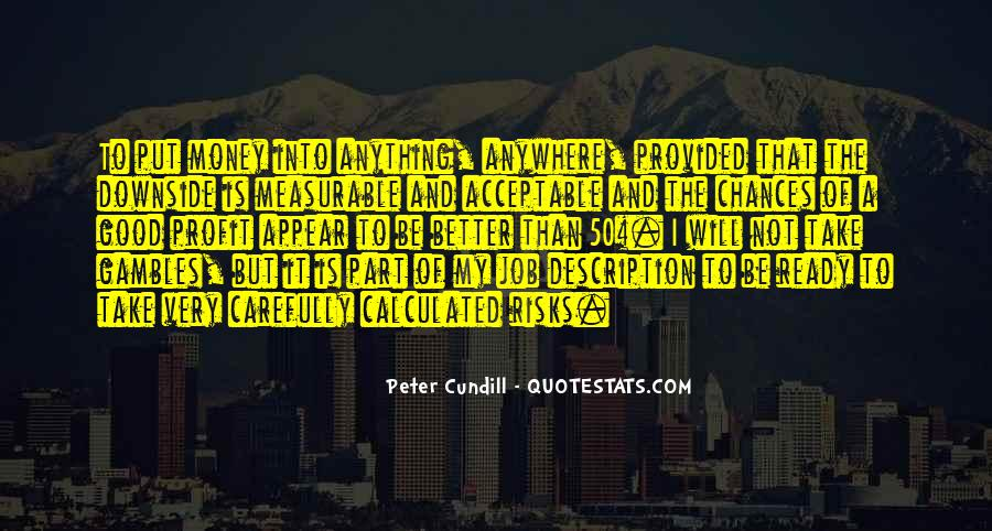 Peter Cundill Quotes #224469