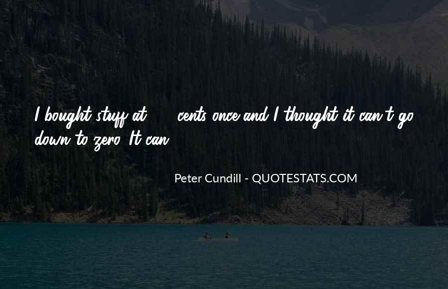 Peter Cundill Quotes #75782