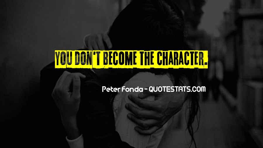 Peter Fonda Quotes #70742