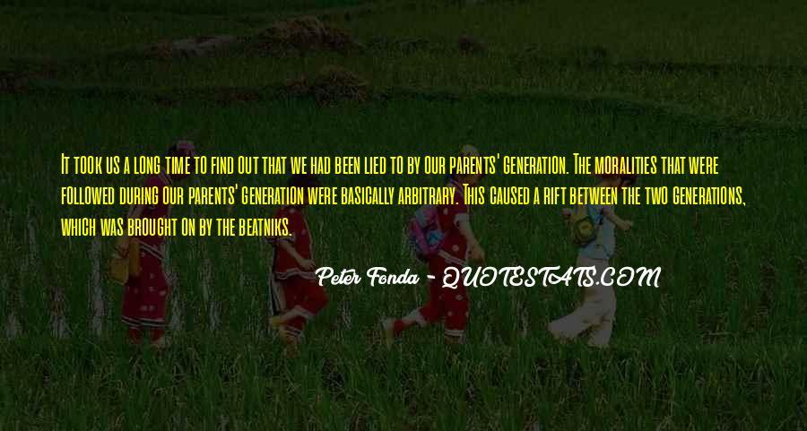 Peter Fonda Quotes #955412
