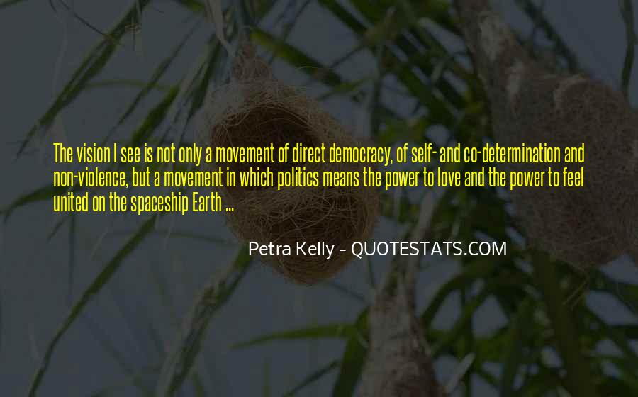 Petra Kelly Quotes #1845464