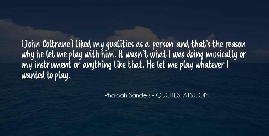 Pharoah Sanders Quotes #1838718