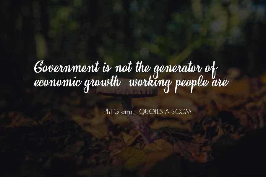 Phil Gramm Quotes #594875