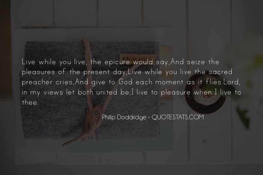 Philip Doddridge Quotes #927534