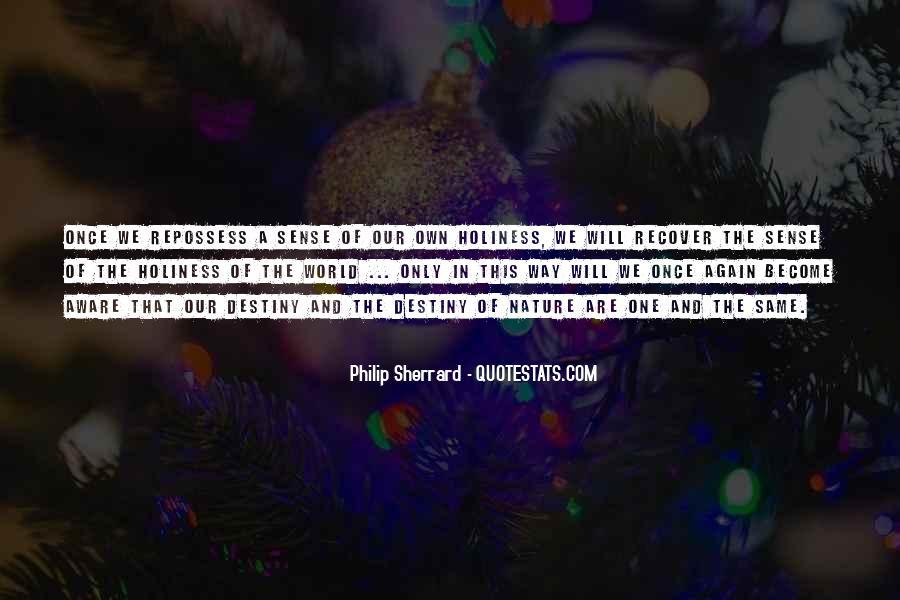 Philip Sherrard Quotes #234989