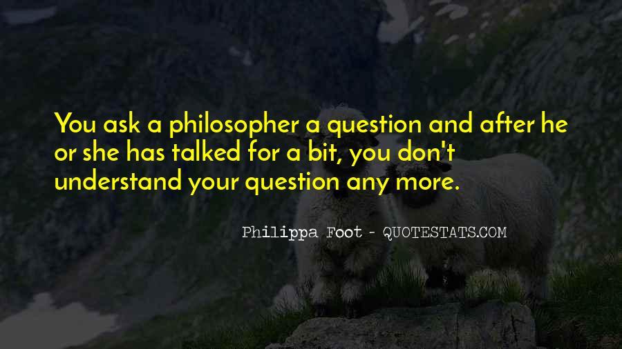 Philippa Foot Quotes #1858610