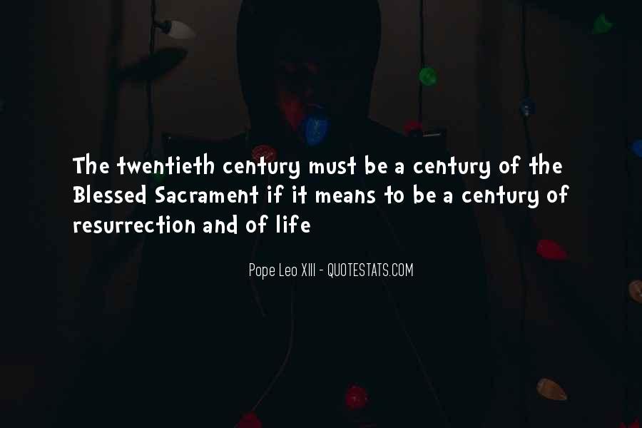 Pope Leo Xiii Quotes #1180595