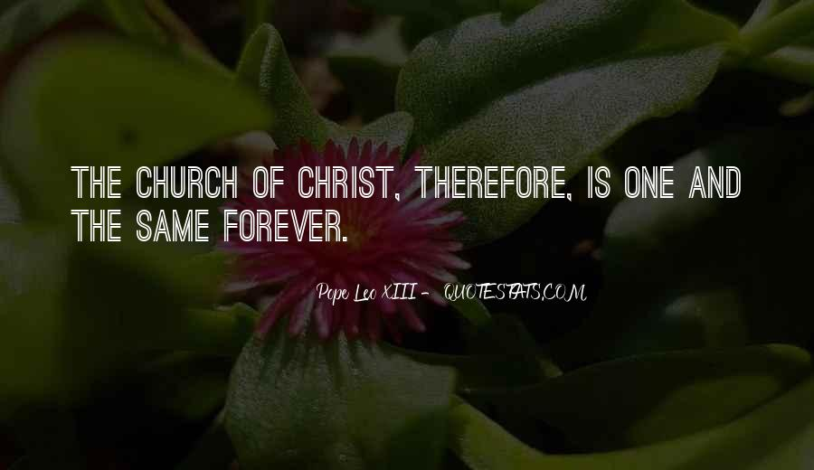Pope Leo Xiii Quotes #1203355