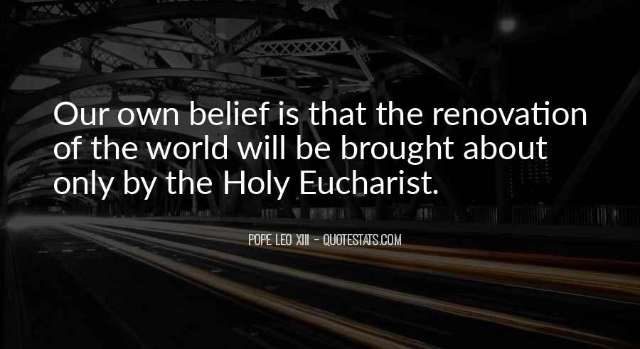 Pope Leo Xiii Quotes #12485