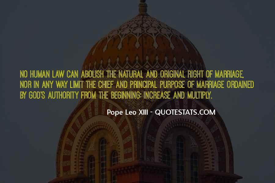 Pope Leo Xiii Quotes #31800