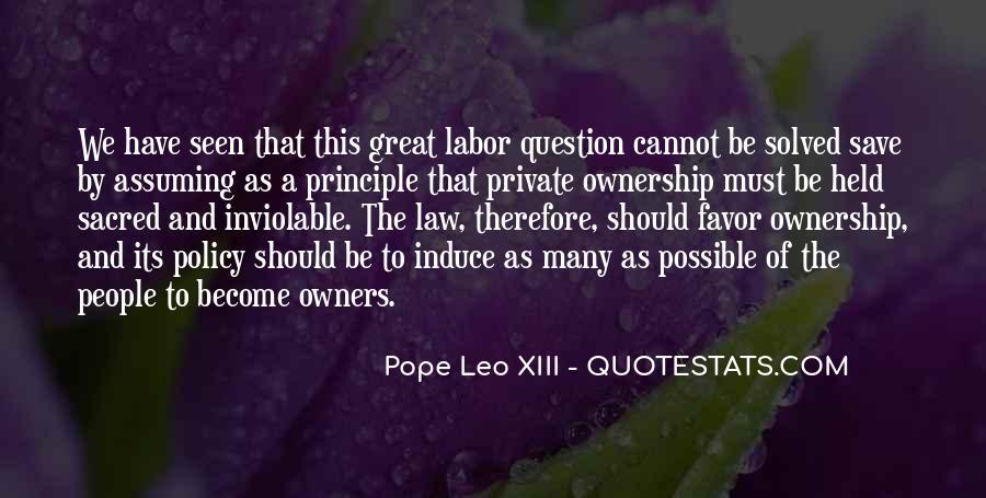 Pope Leo Xiii Quotes #583249