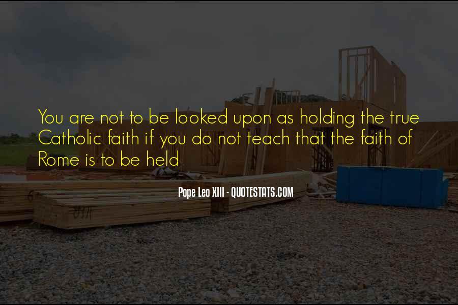 Pope Leo Xiii Quotes #6504