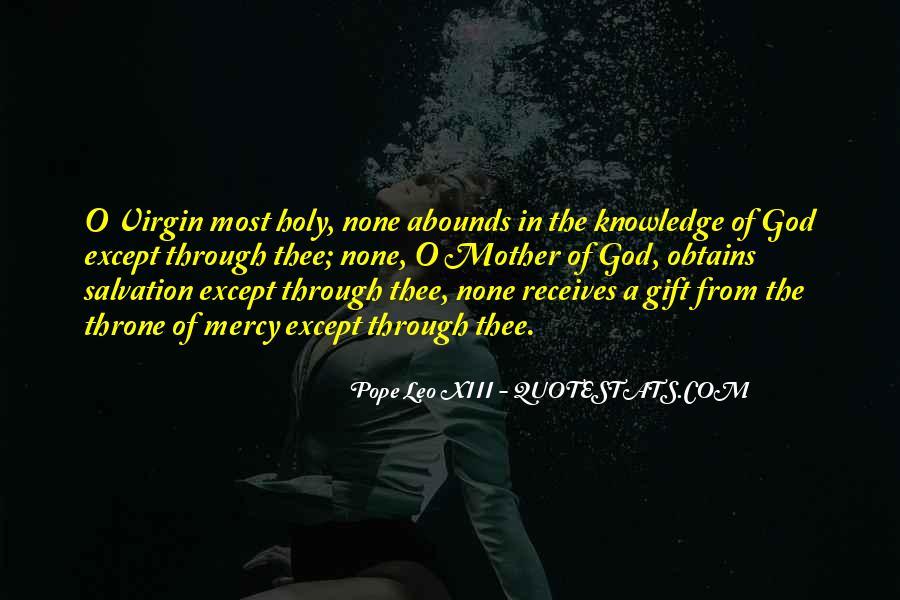 Pope Leo Xiii Quotes #7600