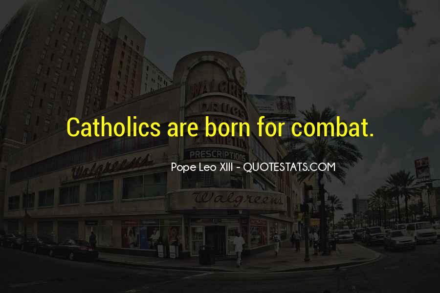 Pope Leo Xiii Quotes #861242