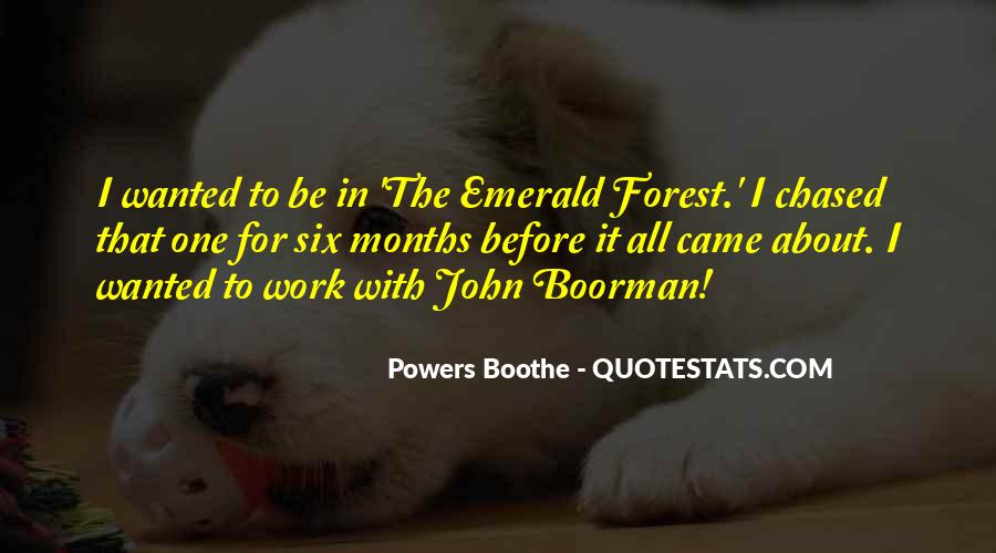 Powers Boothe Quotes #1103183