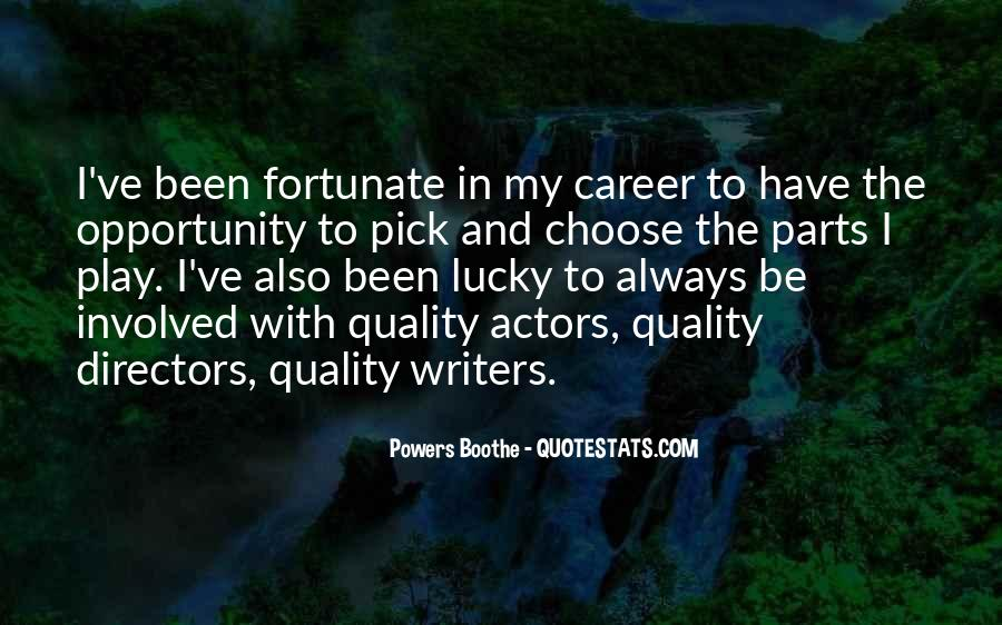 Powers Boothe Quotes #1758668