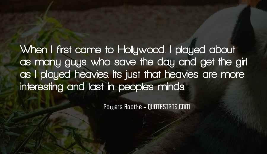 Powers Boothe Quotes #752120