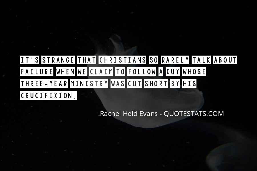 Rachel Held Evans Quotes #1258830