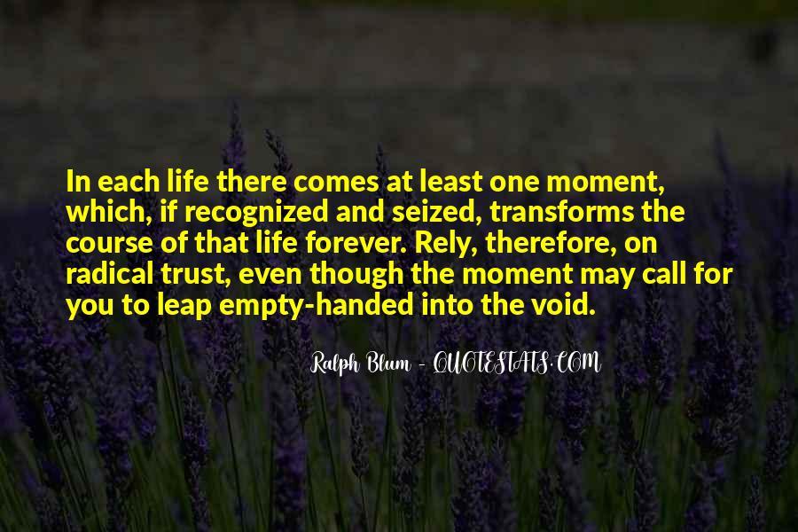 Ralph H Blum Quotes #887374