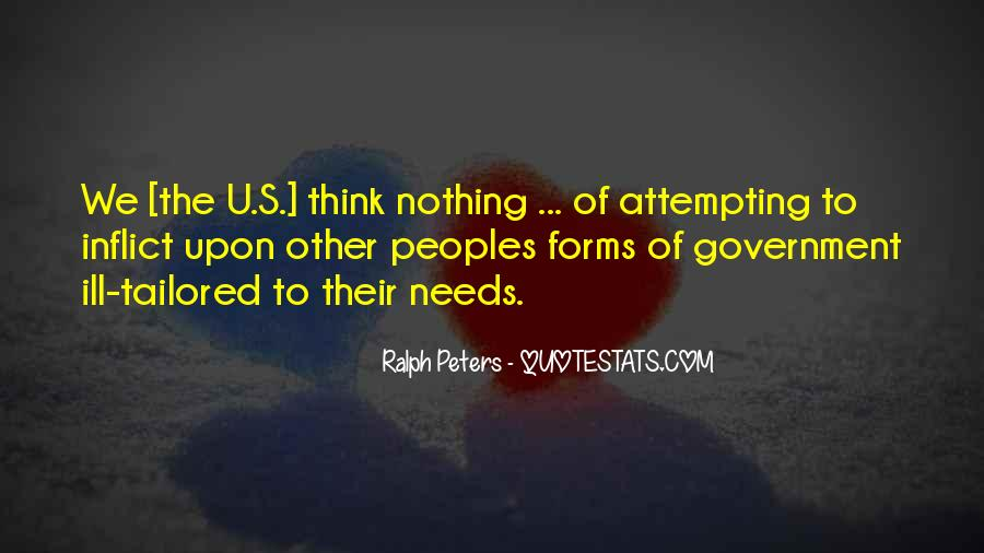 Ralph Peters Quotes #1206445