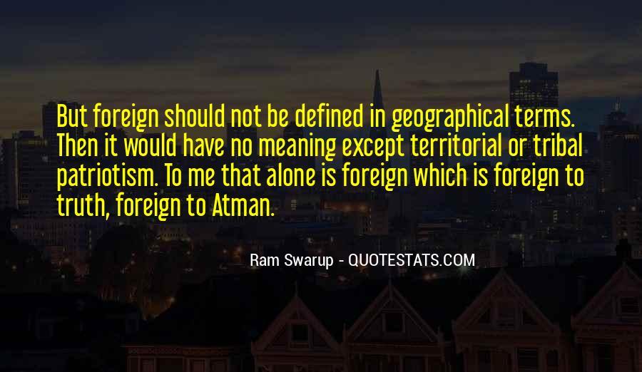 Ram Swarup Quotes #660515