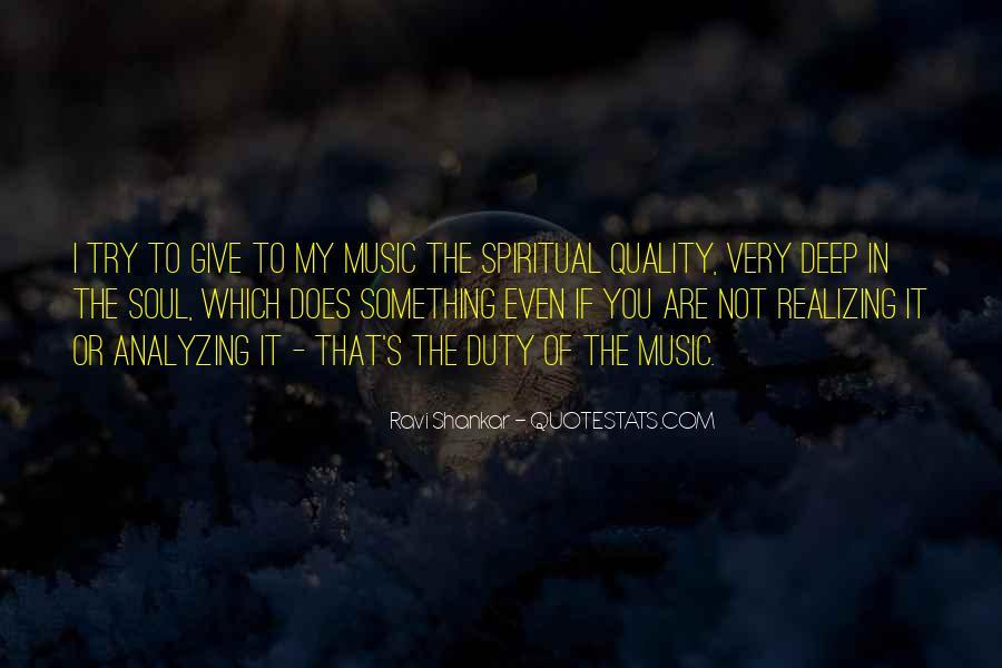 Ravi Shankar Quotes #433010