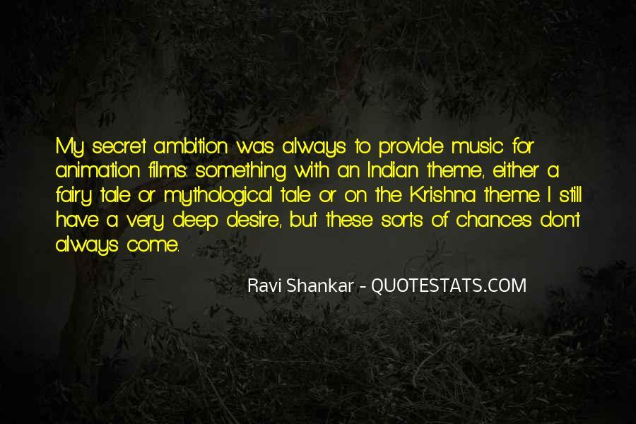Ravi Shankar Quotes #450856
