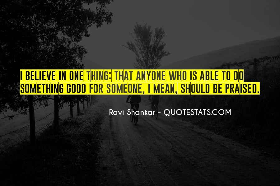 Ravi Shankar Quotes #484100